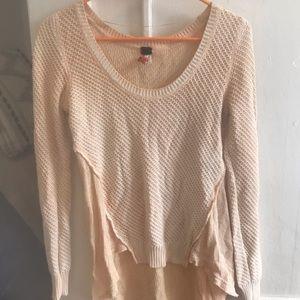 Free People Thermal Long Sleeve Sweater